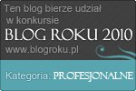 Blog Roku 2010