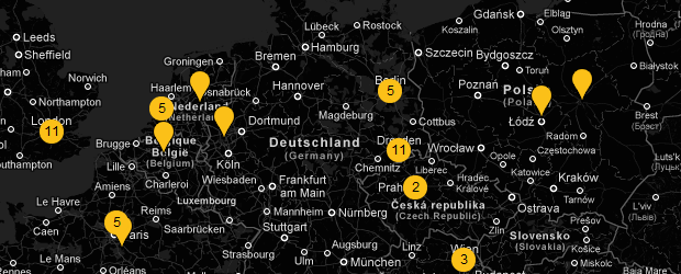 Google Art Project - mapa