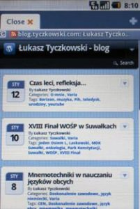 WPtouch theme