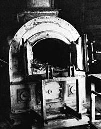 kz auschwitz piec krematorium