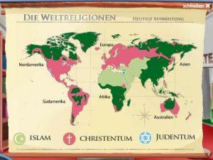Religie świata - mapa