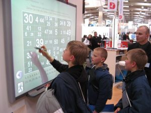tablica interaktywna CeBIT 2007