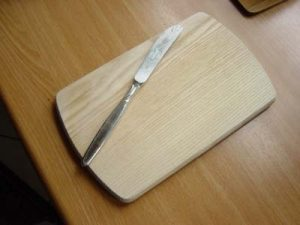 das Frühstücksbrett - deska do krojenia