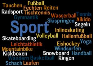 Sportarten - dyscypliny sportowe