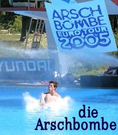 die Arschbombe, Splashdiving