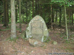 Głaz Wilhelma II - Park Krajobrazowy Puszczy Rominckiej