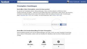Facebook po niemiecku - ustawienia