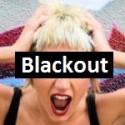 der/das Blackout - pustka w głowie - Wort der Woche