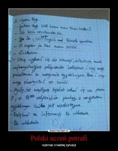 Polski uczeń potrafi - dialog po niemiecku