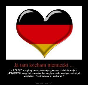 Ja tam kocham niemiecki