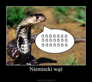 Niemiecki wąż