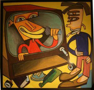 Die schnelle Kunst von Jim Avignon