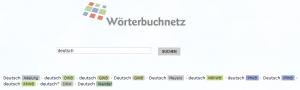 Wörterbuchnetz - deutsch