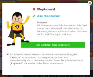 Keyboard - die Tastatur