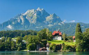 Die Schweiz von oben