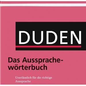 DUDEN Das Aussprachewörterbuch pdf – słownik wymowy niemieckiej