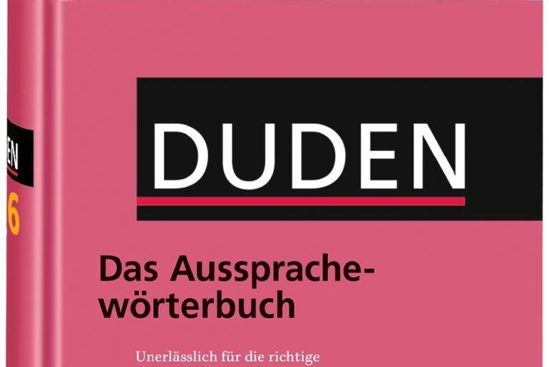 DUDEN Das Aussprachewörterbuch pdf - słownik wymowy niemieckiej