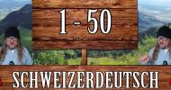Liczebniki od 1 do 50 po szwajcarsku