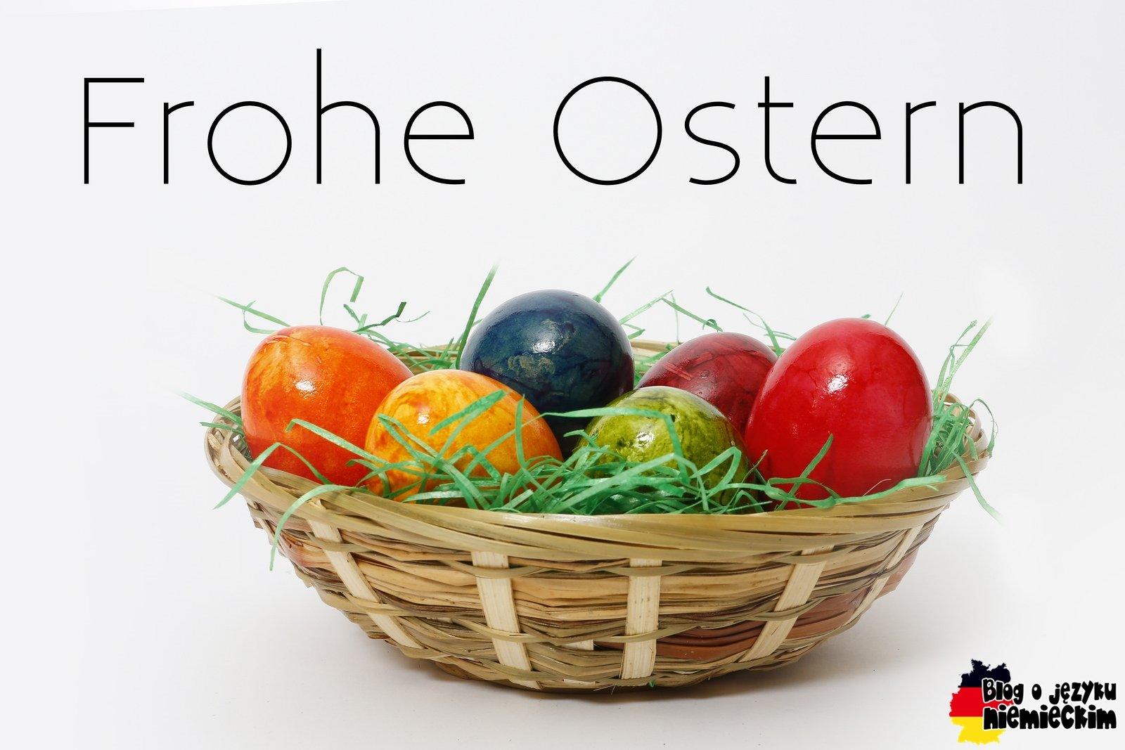 Kartki I życzenia Wielkanocne Po Niemiecku Z Tłumaczeniem Blog O