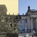 Berlin w roku 1945 i 2015 - seria zdjęć
