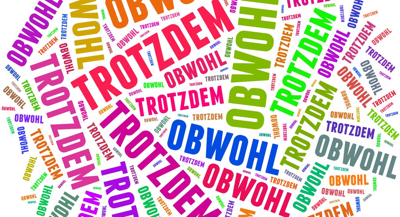 Zdania przyzwalające z obwohl i trotzdem – Blog o języku niemieckim