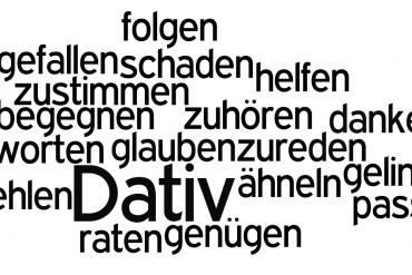 Najważniejsze czasowniki niemieckie występujące zcelownikiem