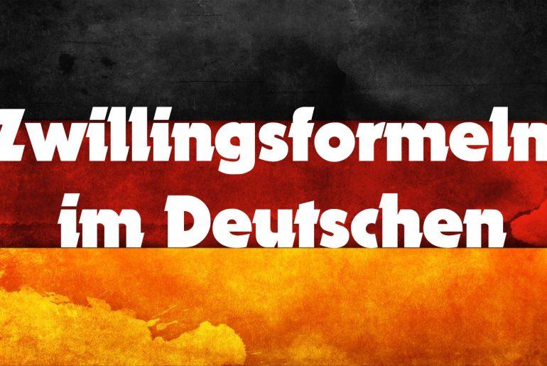Zwillingsformeln - ciekawe frazeologizmy niemieckie