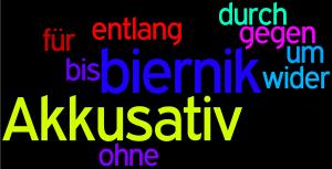 Przyimki z biernikiem w języku niemieckim