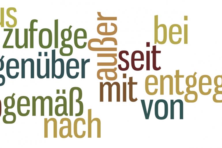Przyimki z celownikiem w języku niemieckim