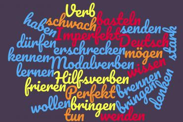 Typy odmian (klasy) czasowników niemieckich