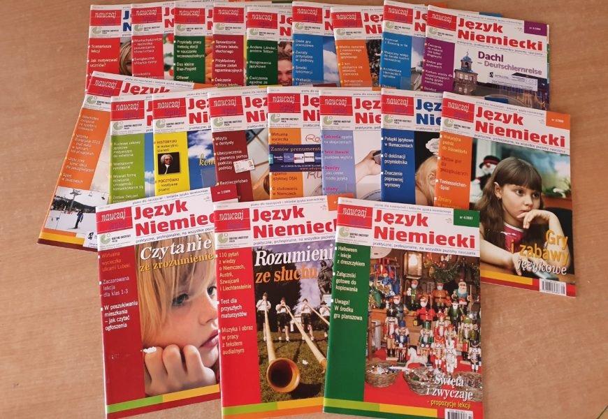 Kiermasz książek i słowników do nauki języka niemieckiego