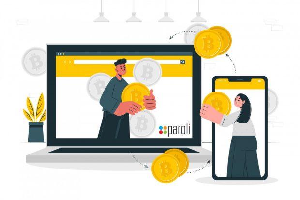 Bitcoin accepted here - Paroli